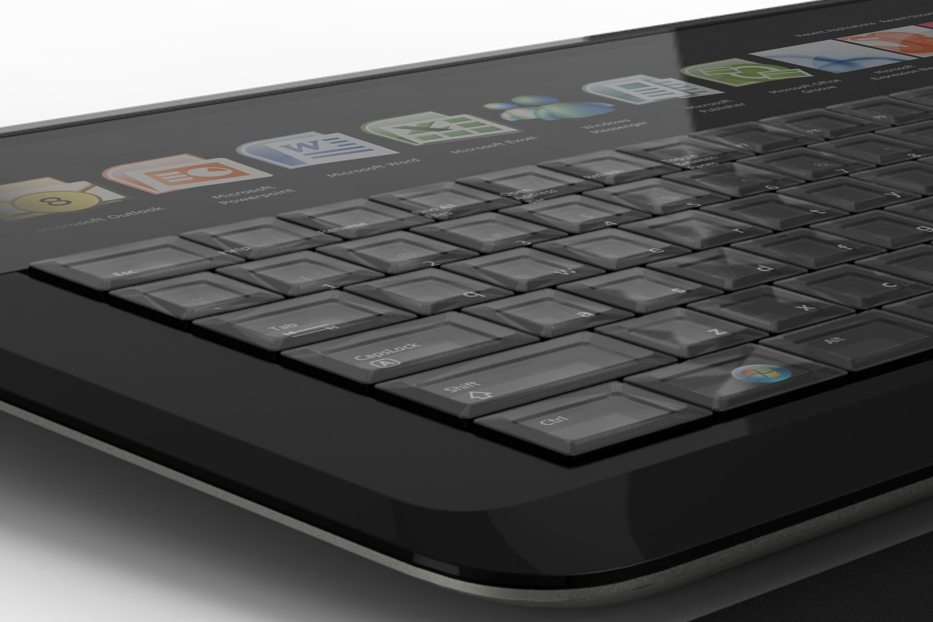 Adaptive Keyboard early product concept render